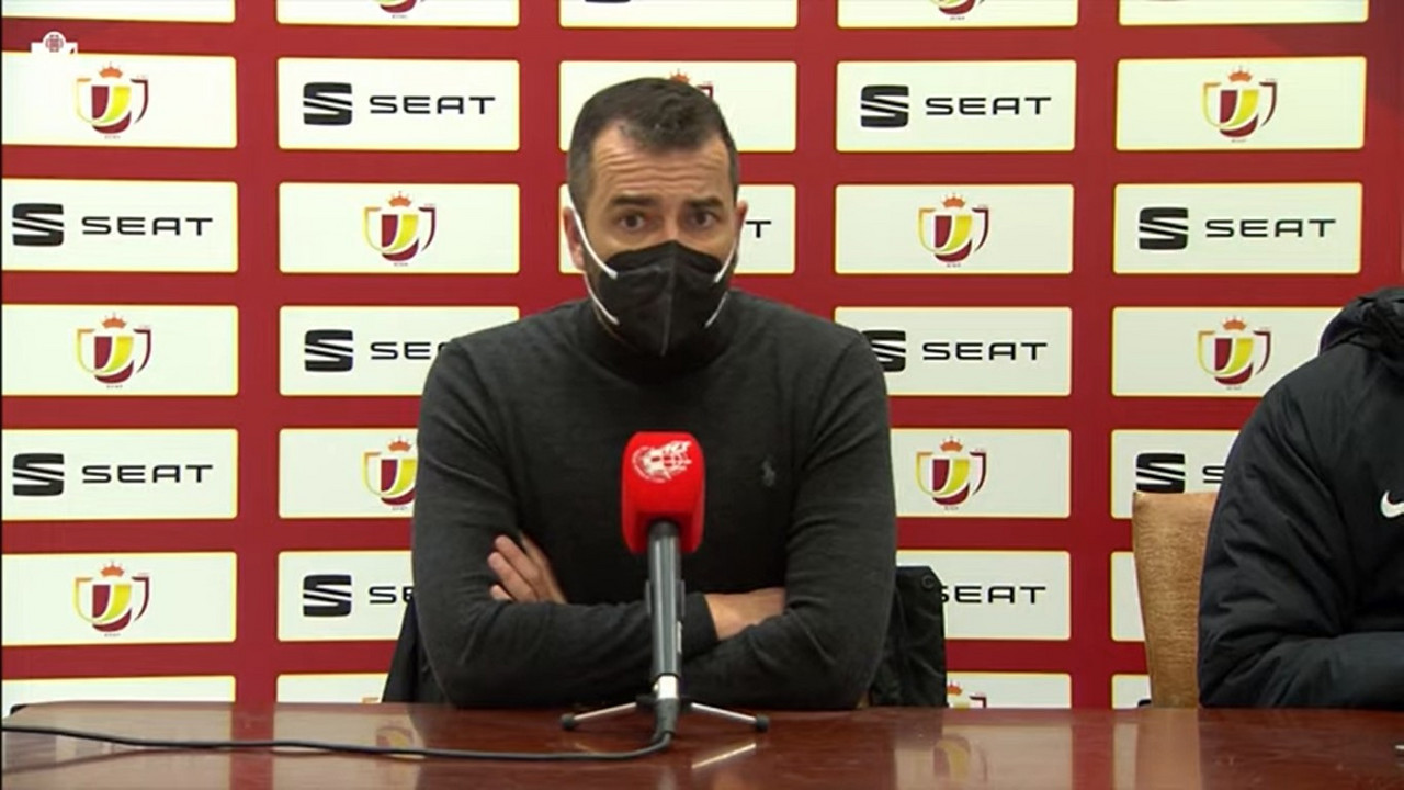 """Diego Martínez: """"Lo que está haciendo el equipo es increíble"""""""