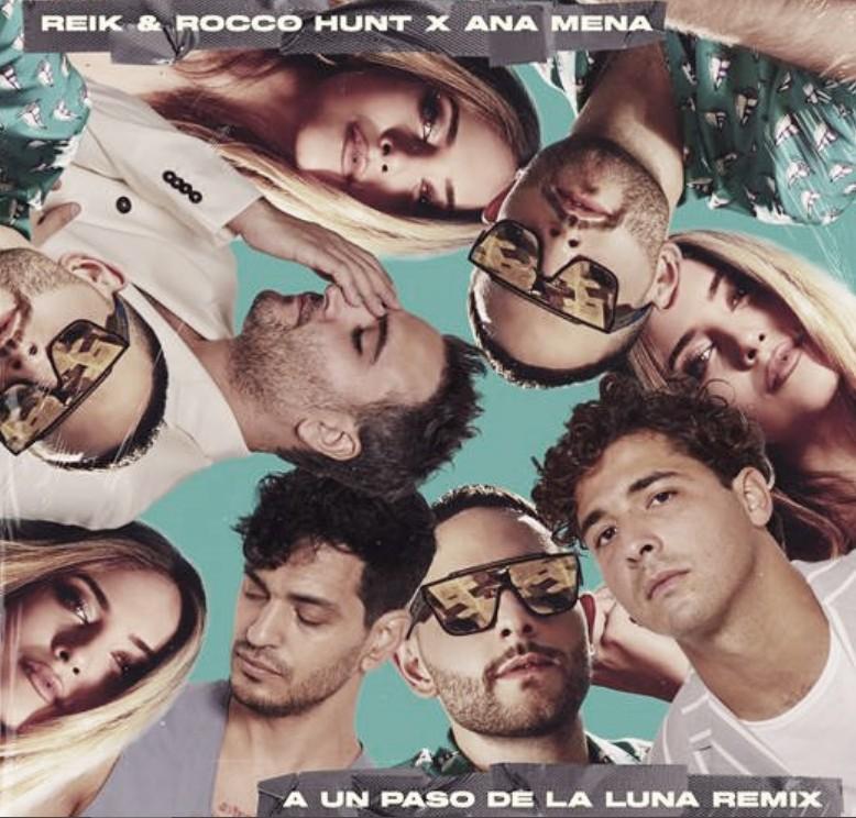 """Ana Mena y Rocco Hunt se juntan en """"A un paso de la luna remix"""""""