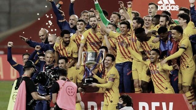 Gols e melhores momentos de Athletic Bilbao 0 x 4 Barcelona pela final da Copa del Rey
