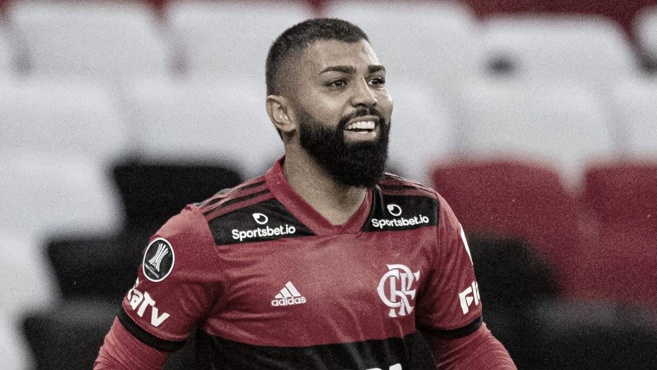 Gabigol chega à marca de 83 gols pelo Flamengo e ultrapassa Cláudio Adão