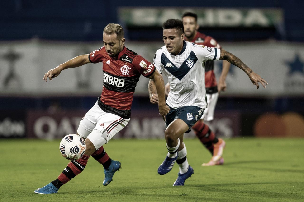 Vale a primeira posição: Flamengo e Vélez Sarsfield brigam pelo topo do Grupo G da Libertadores