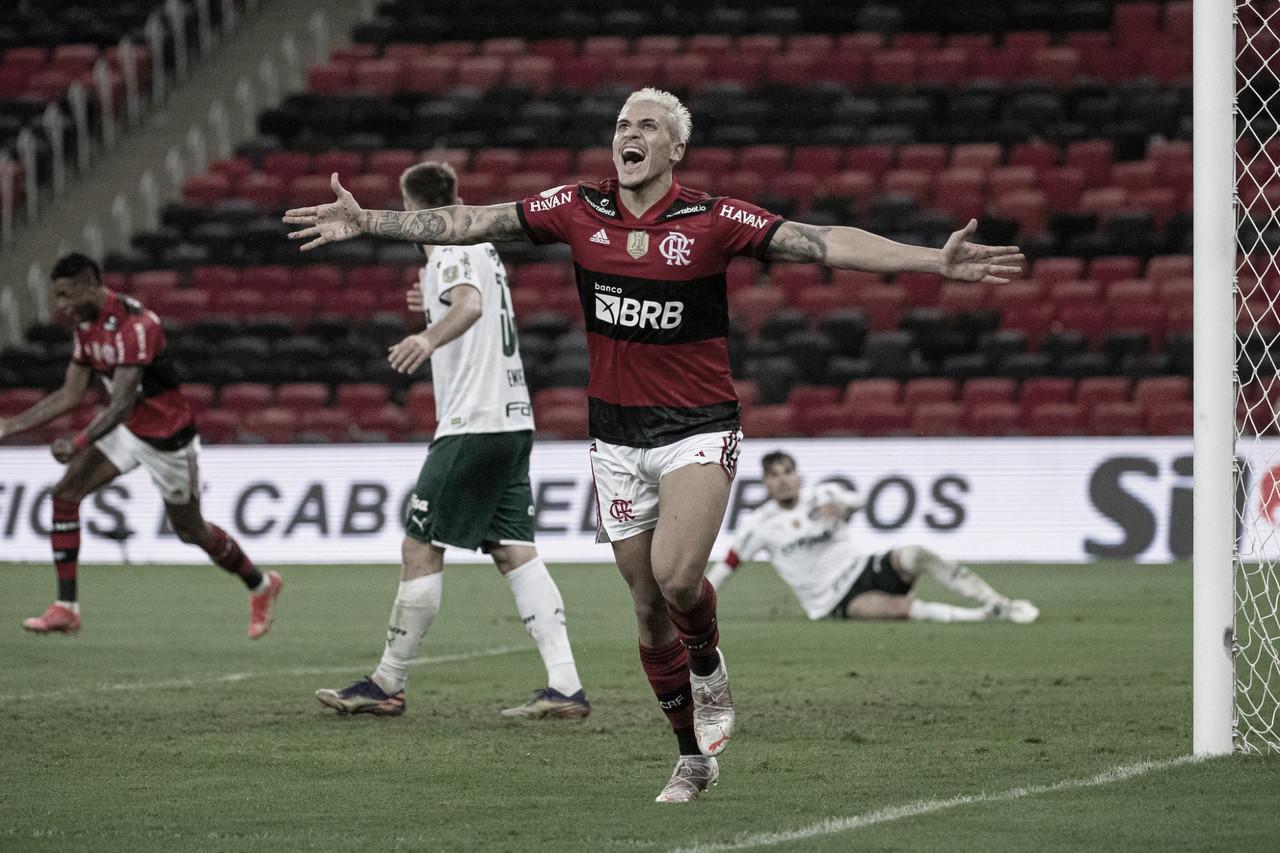 Flamengo vence e aumenta sequência invicta sobre o Palmeiras