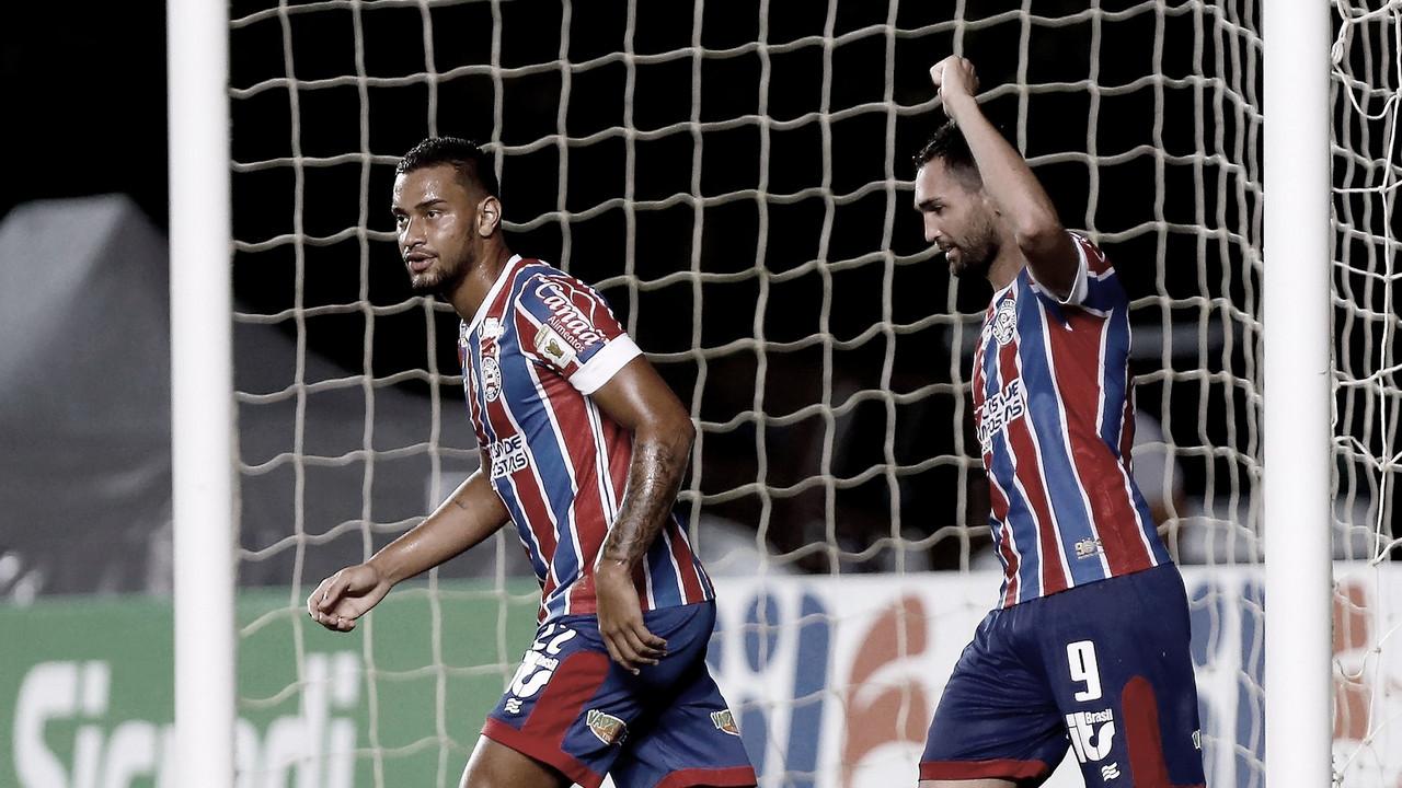 Bahia repete triunfo sobre o Vila Nova e passa de fase na Copa do Brasil