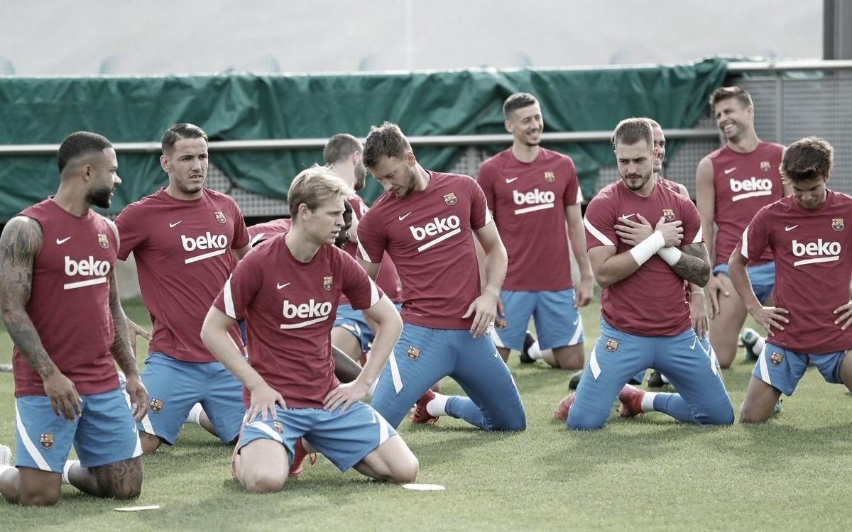 Primera convocatoria del Barça en Liga