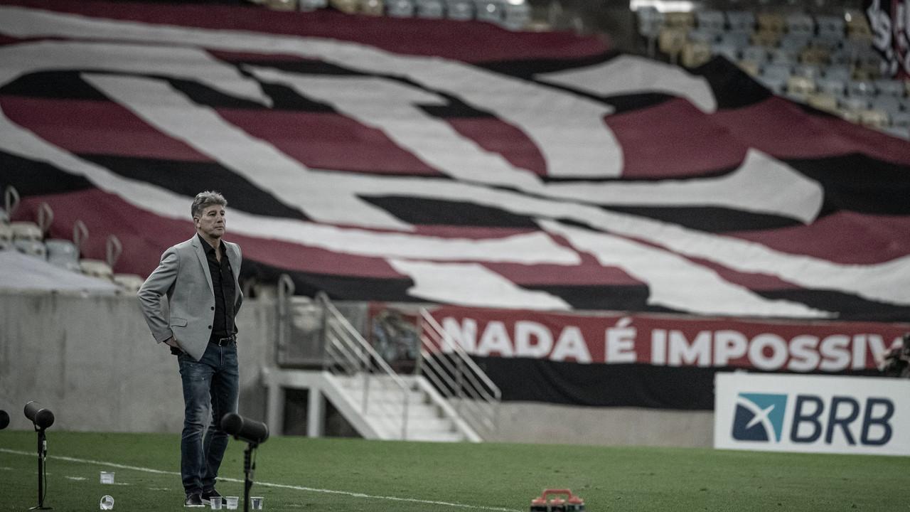Fim do castelo invencível de Renato Gaúcho no Flamengo