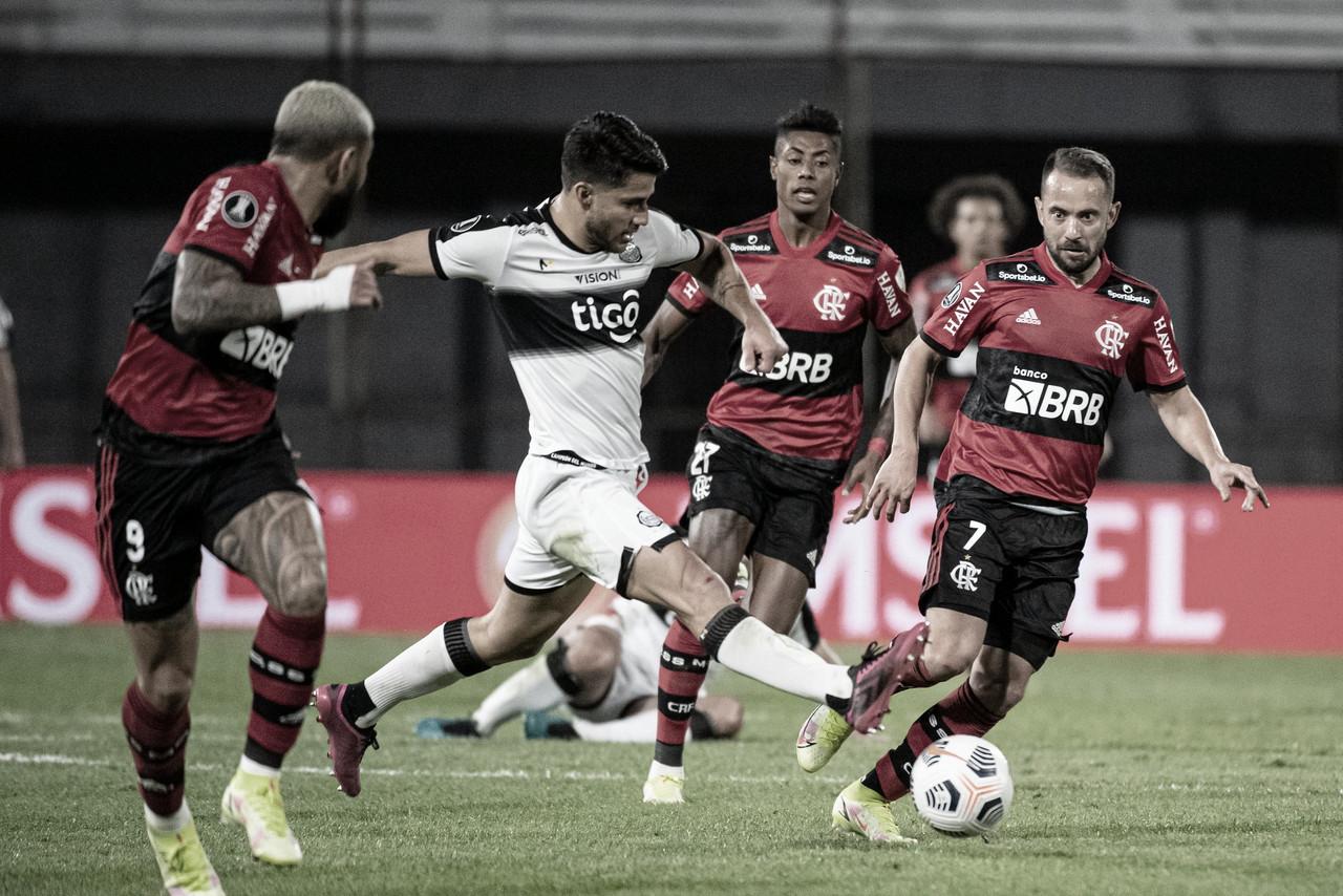 Boa vantagem e público: Flamengo recebe Olimpia com um pé nas semifinais da Libertadores