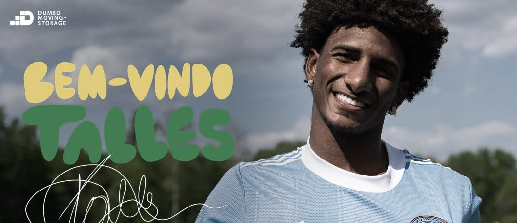 NYCFC firma a Talles Magno
