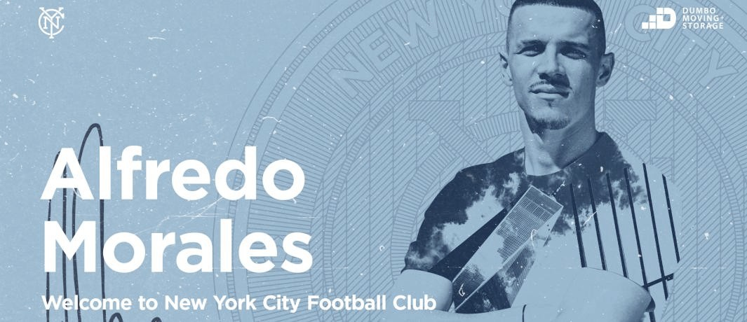 Alfredo Morales firma por New York City FC