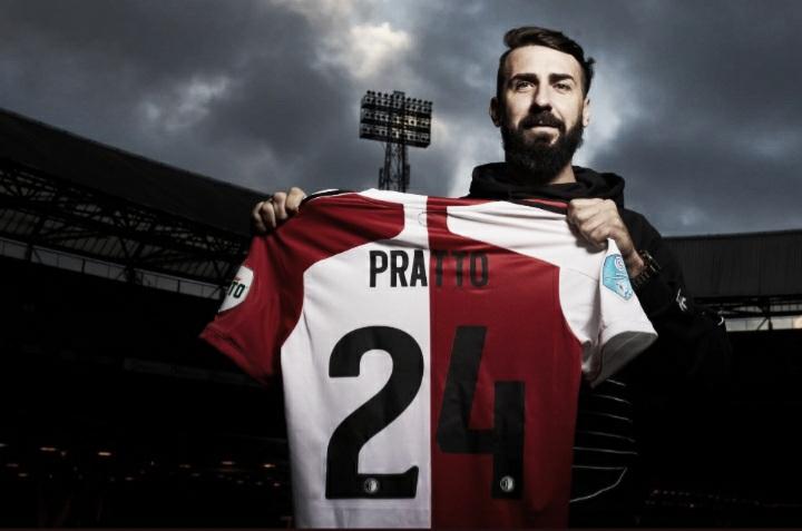 Lucas Pratto é anunciado como novo atacante do Feyenoord