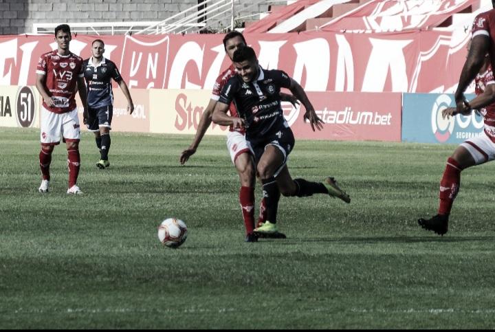 Vila Nova goleia desmantelado Remo no jogo de ida da final da Série C