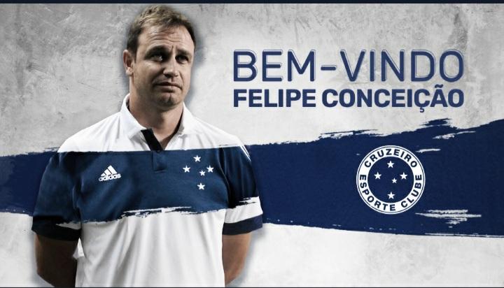 Cruzeiro anuncia Felipe Conceição como novo treinador