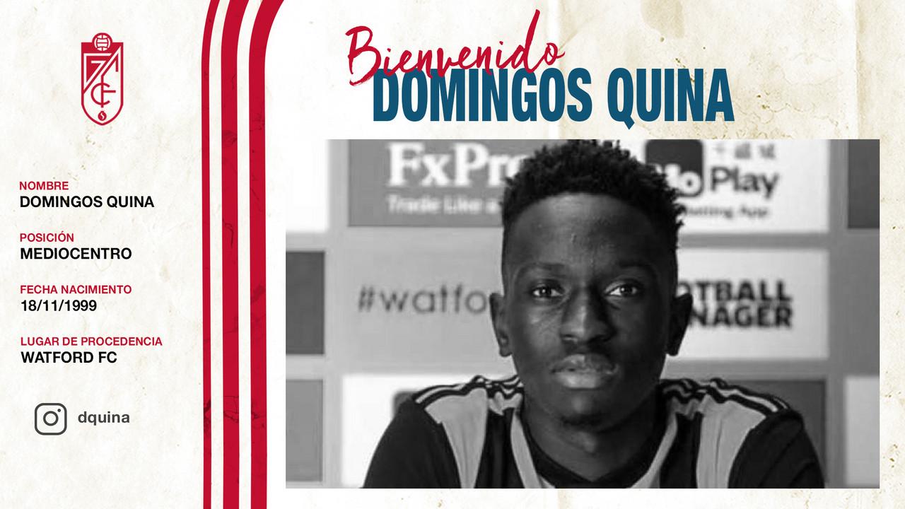 Domingos Quina llega cedido al Granada CF
