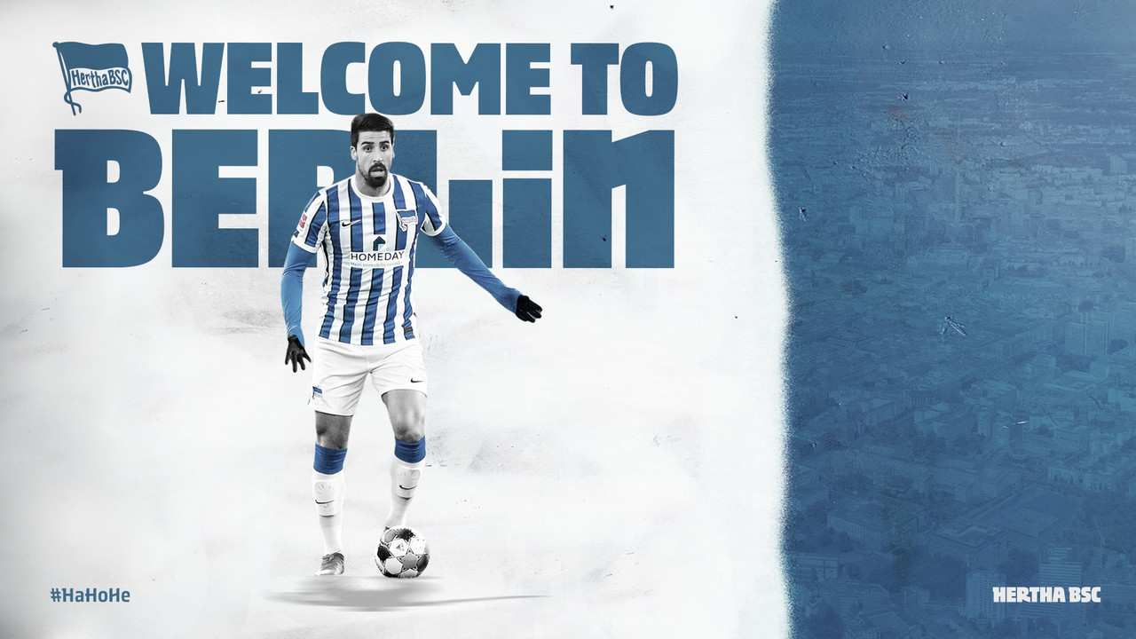 Sami Khedira, nuevo jugador del Hertha Berlín