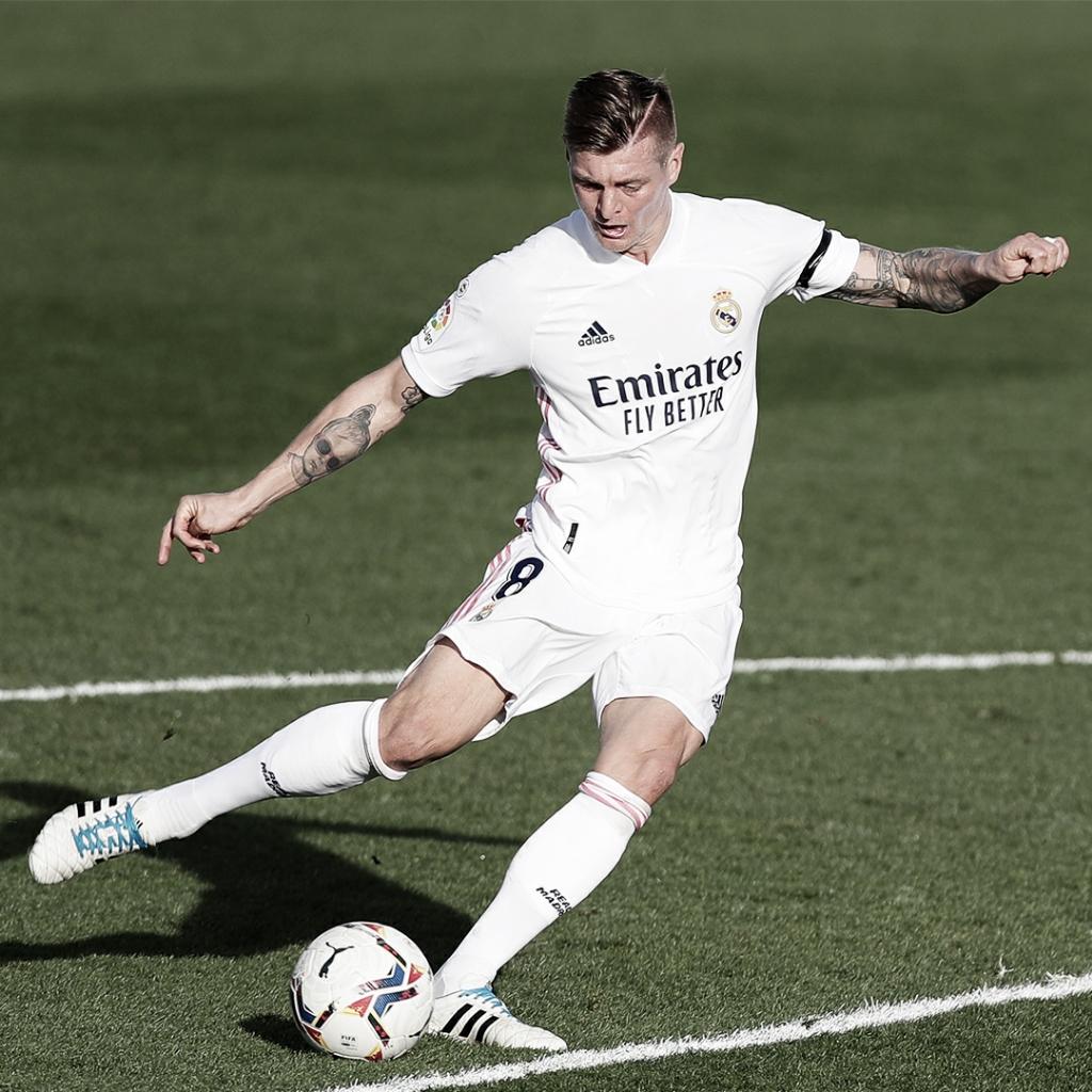"""Kroos: """"No sabemos si ganando todos los partidos será suficiente para conseguir LaLiga"""""""