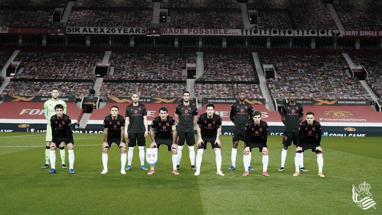 Manchester United - Real Sociedad: Puntuaciones de la Real Sociedad en la vuelta de los 16avos de final