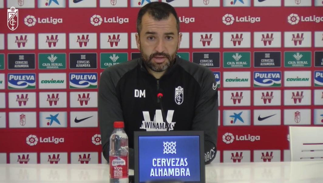 """Diego Martínez: """"La Real es un señor equipo y daremos todo lo que tengamos dentro"""""""