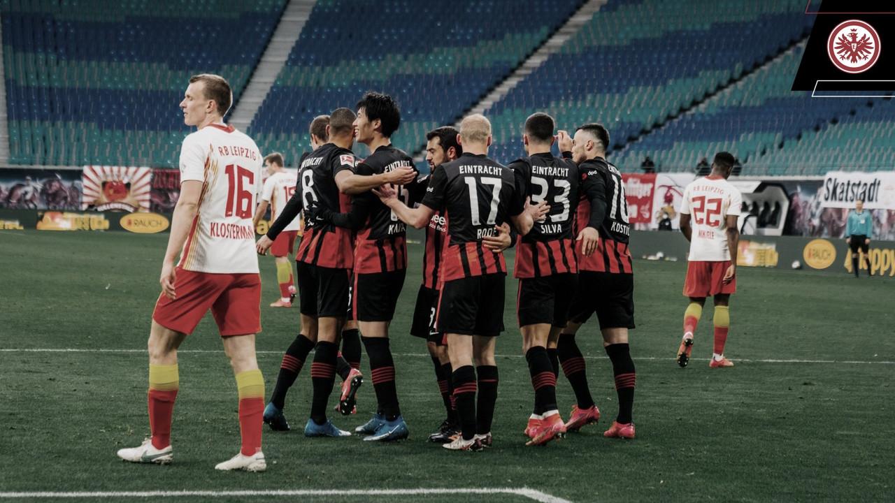 El Leipzig no pudo pasar del empate y se aleja de la lucha por el título