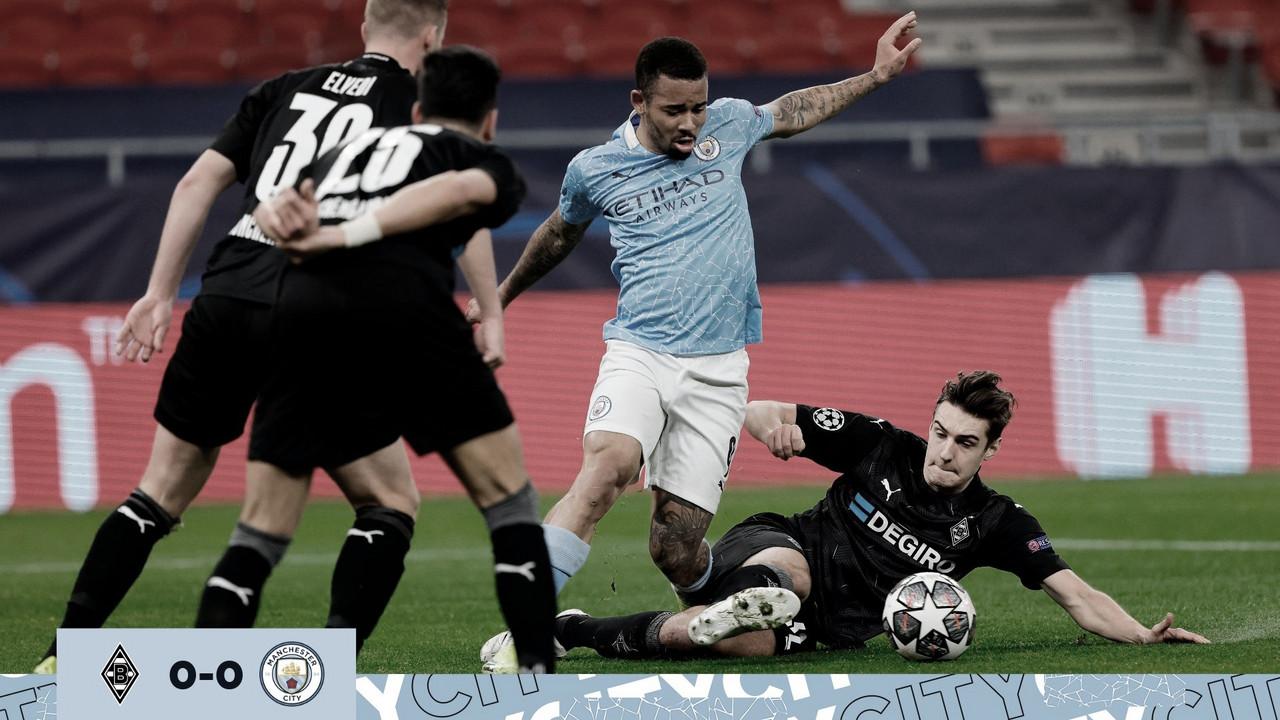 Resumen del Manchester City vs Borussia Mönchengladbach (2-0)