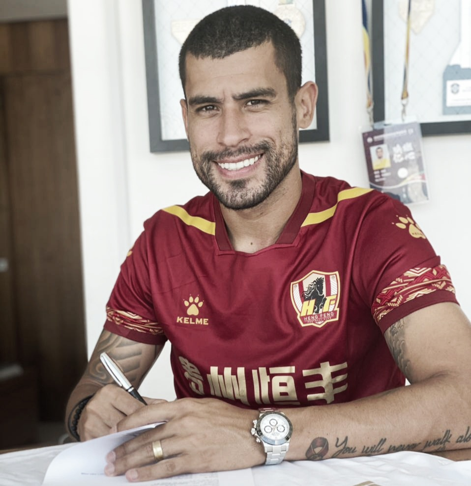 Ex-São Paulo, Sérgio Mota renova contrato com Guizhou
