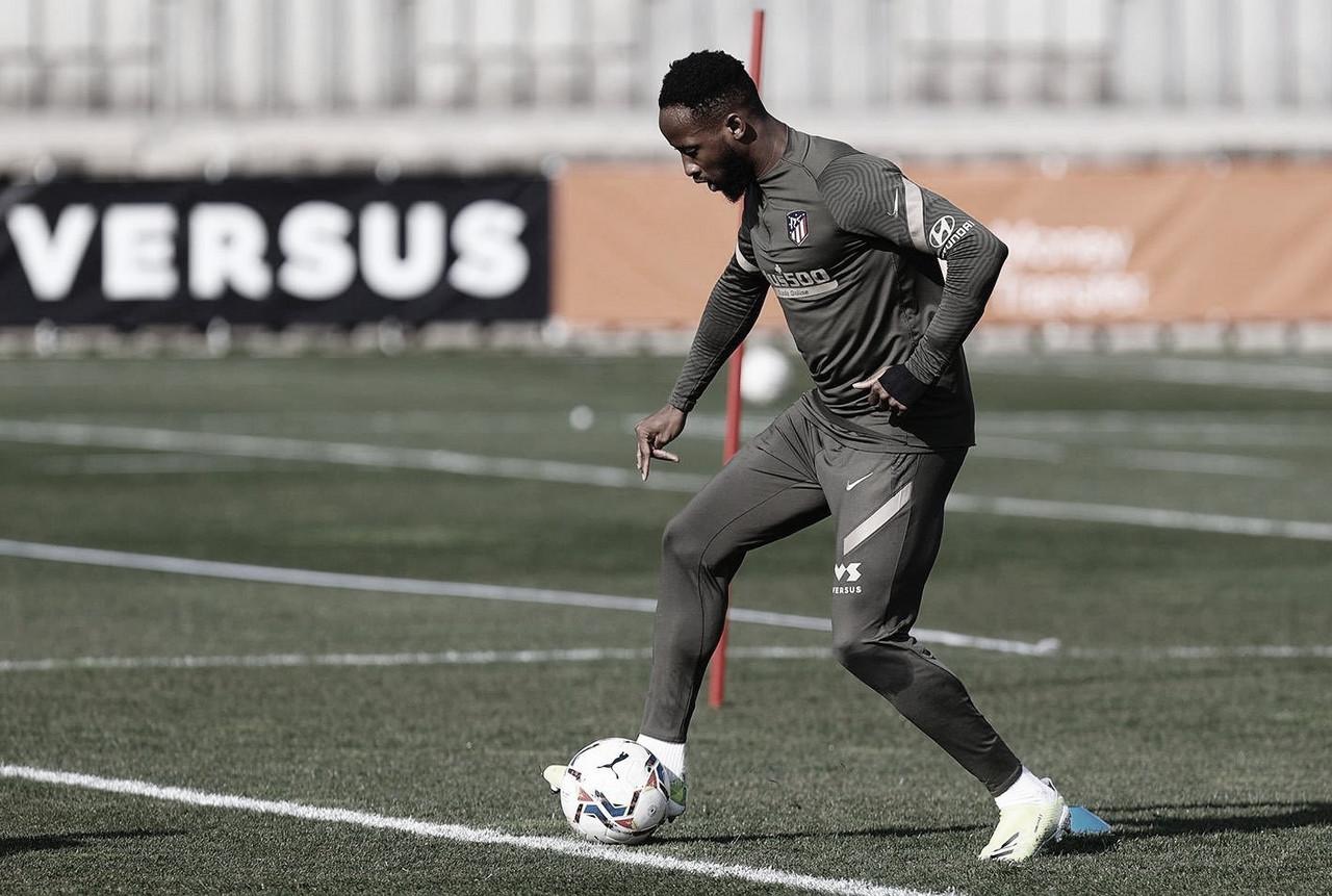 Buenas noticias para el Atlético, Dembélé volvió a los entrenamientos