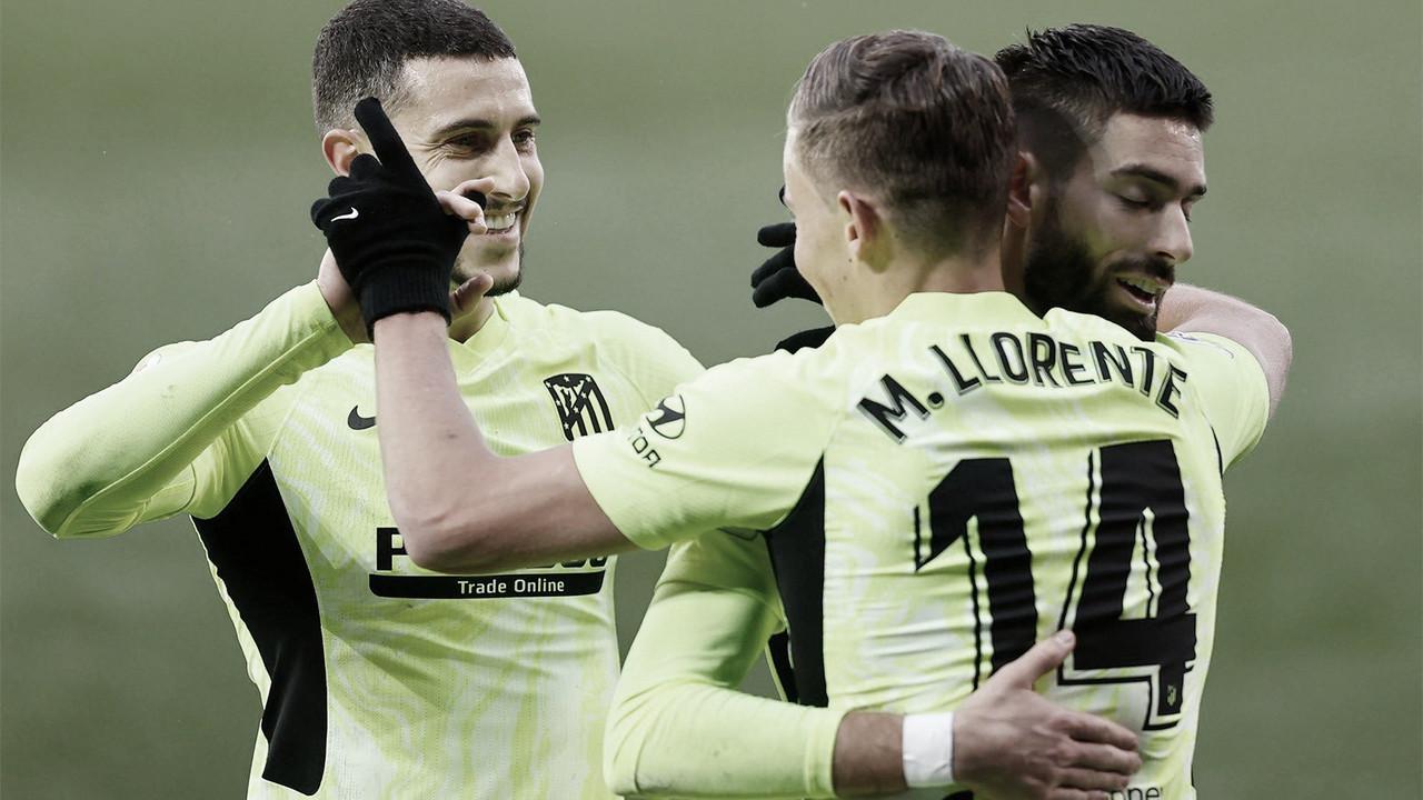 Previa Atlético de Madrid-SD Eibar: es mejor no depender de nadie