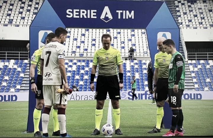 Roma fica em vantagem por duas vezes, mas cede empate ao Sassuolo