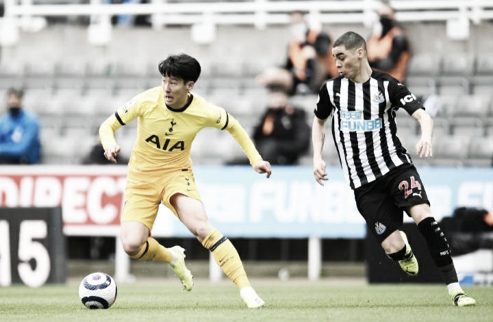 Harry Kane faz dois, mas Tottenham cede empate ao Newcastle