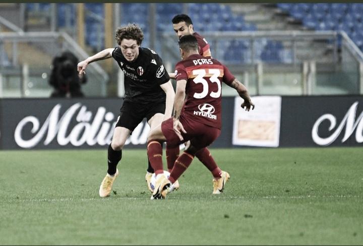 Roma joga mal, mas ganha do Bologna com gol de Borja Mayoral
