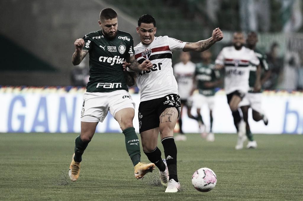 Gol e melhores momentos para Palmeiras 0 x 1 São Paulo pelo Campeonato Paulista