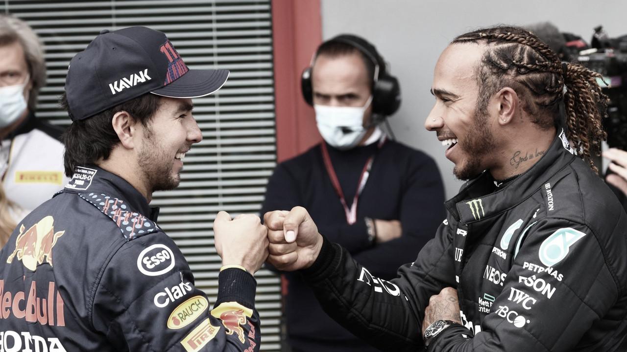 """Lewis Hamilton se anima com crescimento da Red Bull: """"Adoro o desafio"""""""