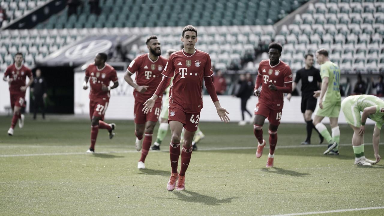 Bayern de Munique vence Wolfsburg e dispara na liderança da Bundesliga