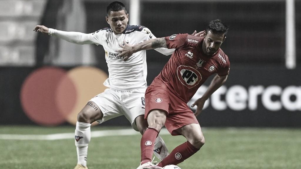 Unión La Calera faz bom jogo, mas só empata com LDU no grupo do Flamengo