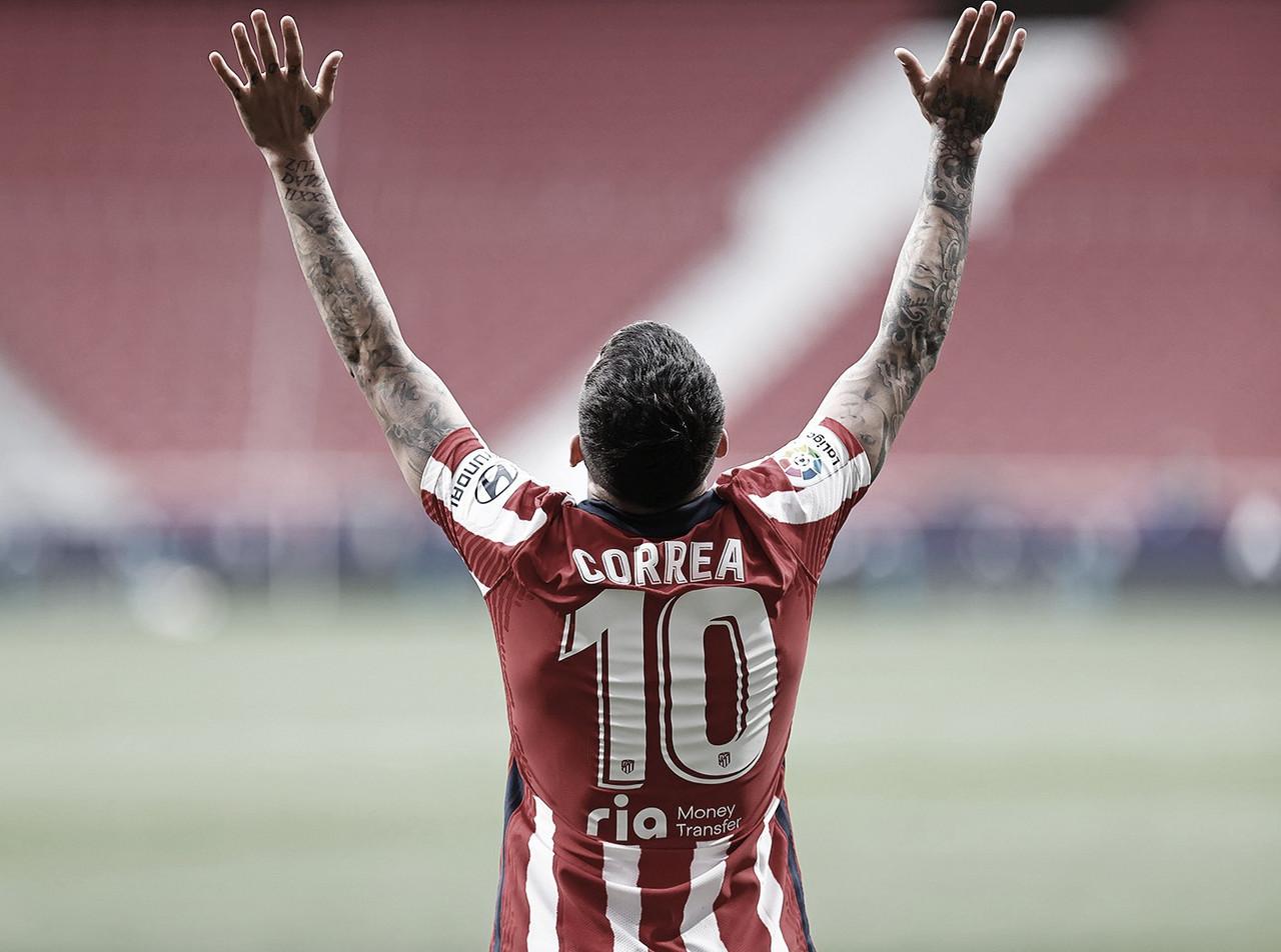 El ángel del Atlético de Madrid