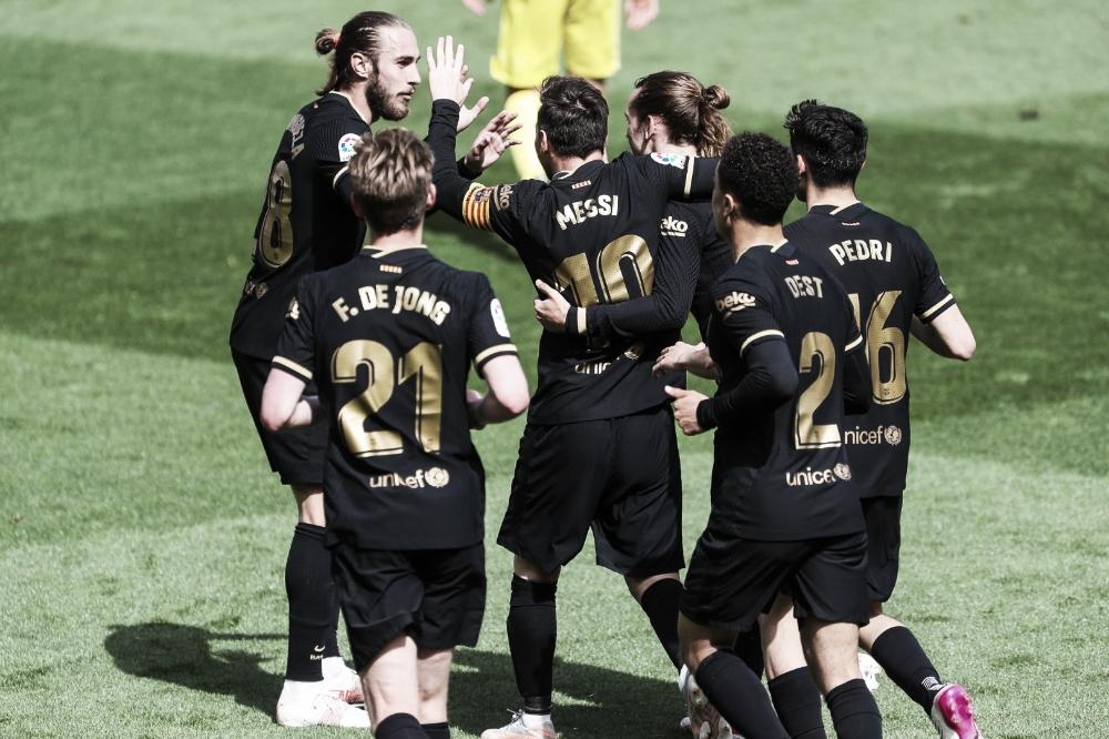 Em jogo equilibrado, Barcelona vira sobre Villarreal e mantém disputa por LaLiga