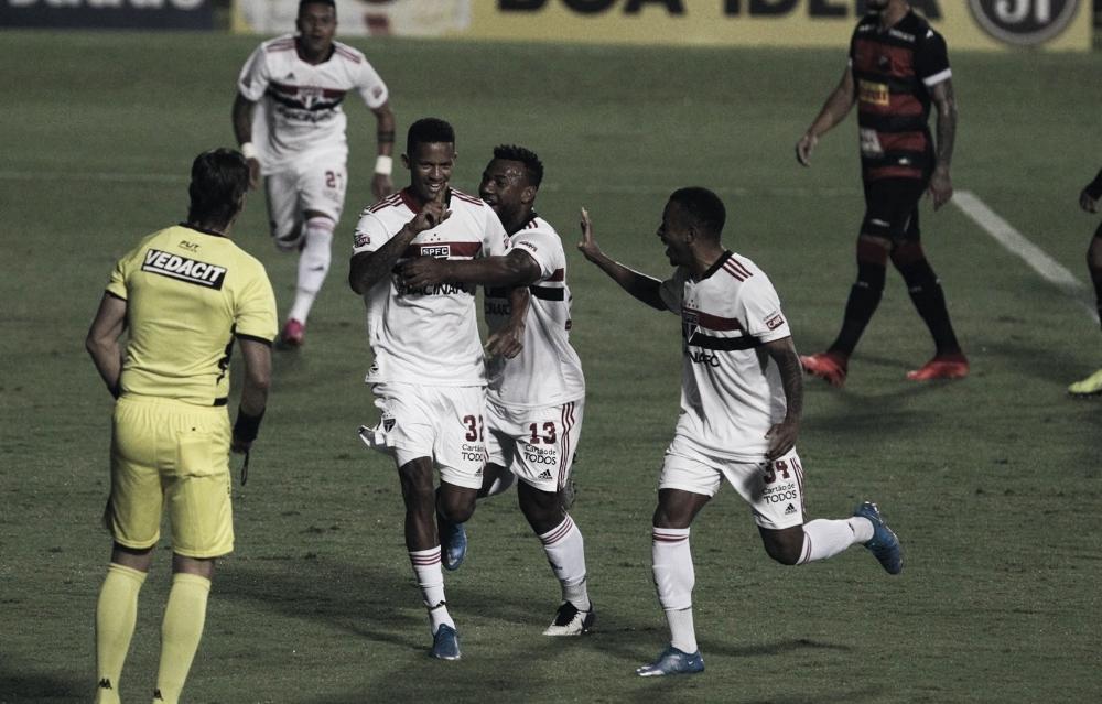 Duas expulsões e passeio tricolor: São Paulo vence Ituano, mantém boa fase e se classifica no Paulistão
