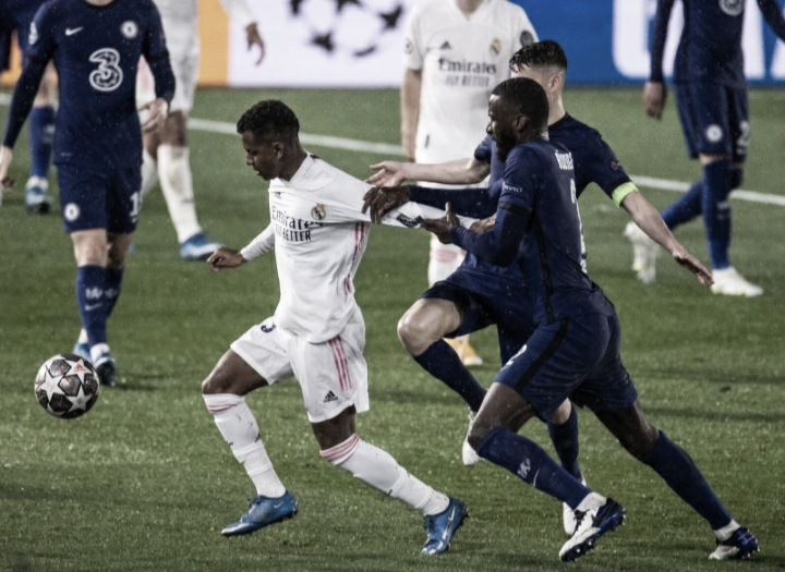 Chelsea sai na frente, mas cede empate ao Real Madrid