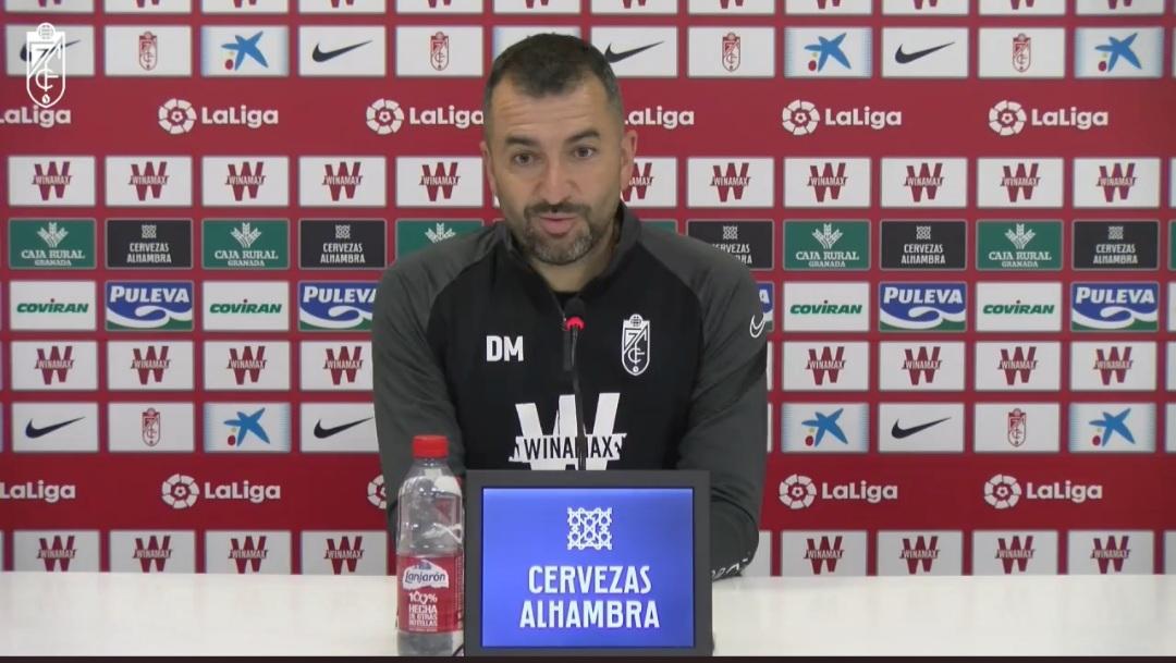 """Diego Martínez: """"Siempre vamos con la ambición de dar lo mejor"""""""