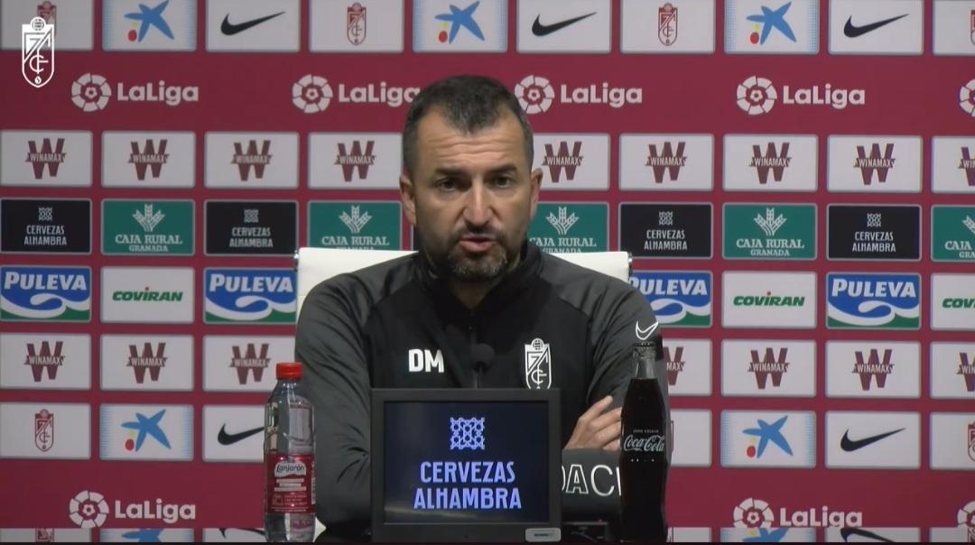 """Diego Martínez: """"El partido contra el Cádiz será muy incómodo, pero muy ilusionante"""""""