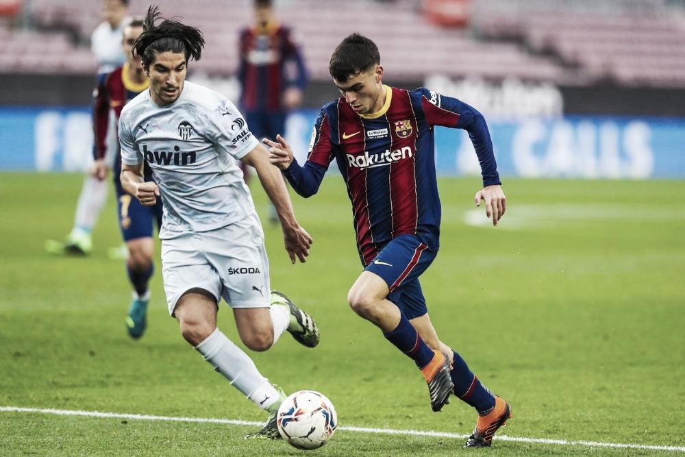 Gols s melhores momentos para Valencia 2 x 3 Barcelona por La Liga