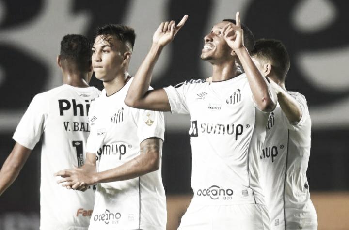 Gols e melhores momentos de Santos 5 x 0 The Strongest pela Libertadores