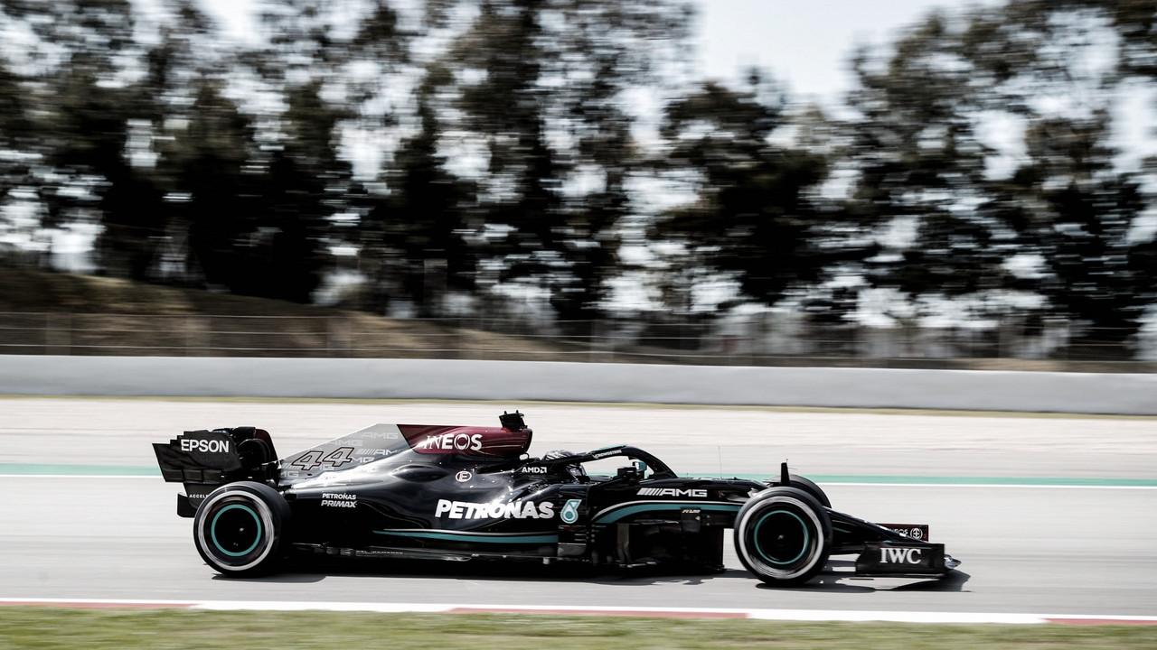 Hamilton é o primeiro em TL2 na Espanha marcado pelo equilíbrio