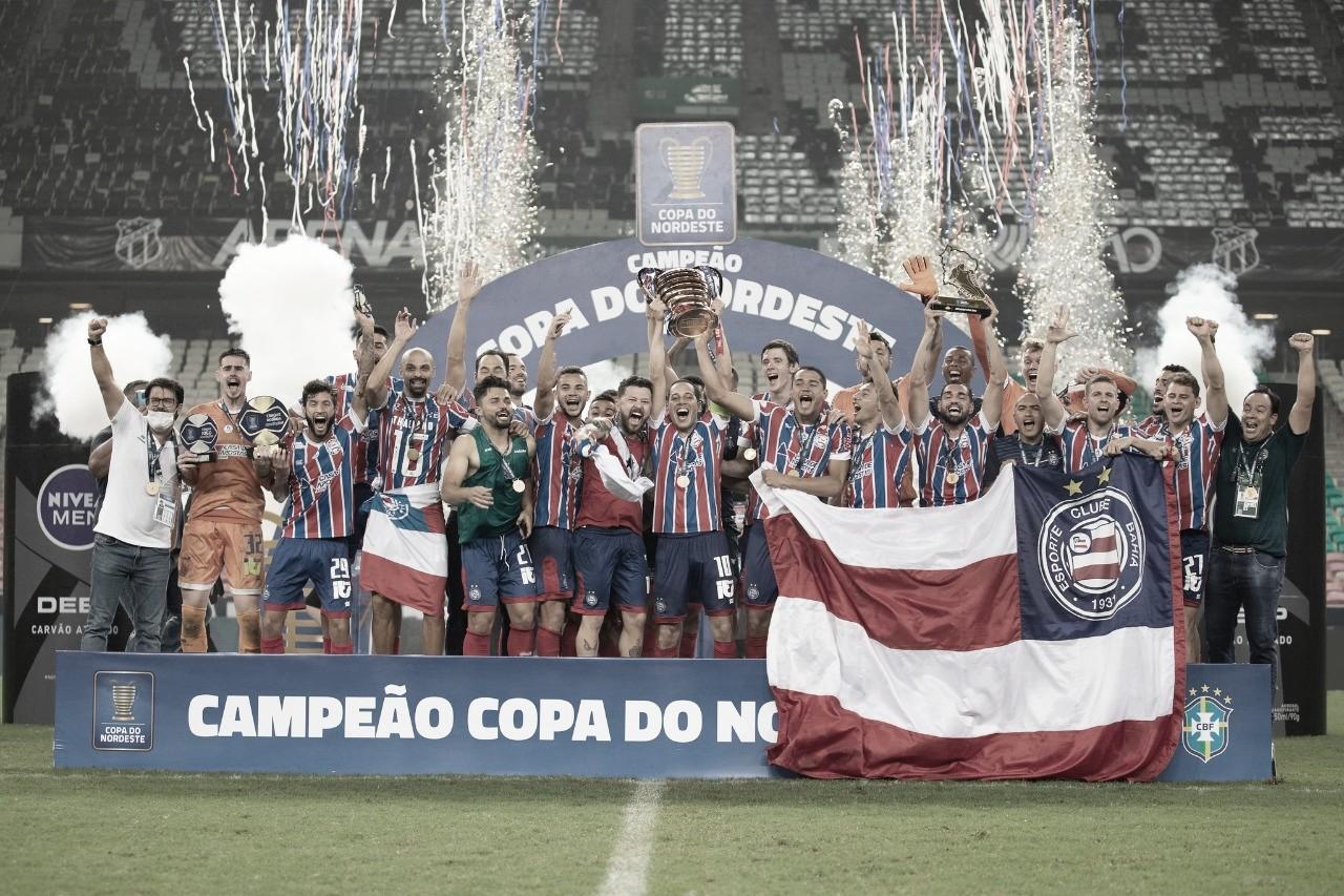 Título do Bahia confirma superioridade histórica do futebol baiano na Copa do Nordeste