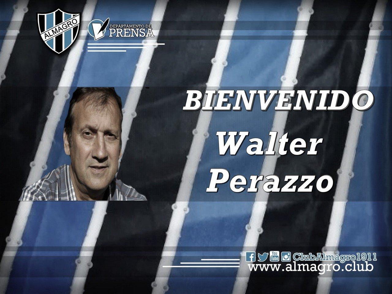 Walter Perazzo es el nuevo DT de Almagro