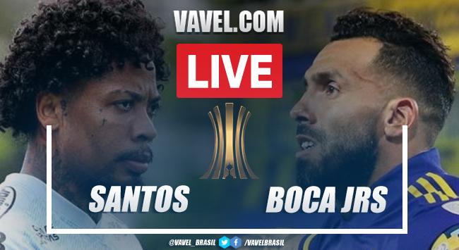 Gol e melhores momentos de Santos 1 x 0 Boca Juniors pela Libertadores