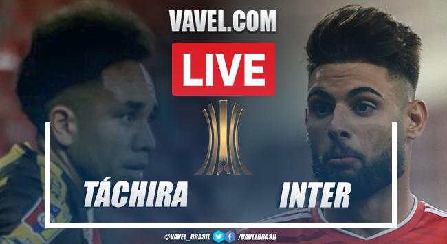 Gols e melhores momentos de Deportivo Táchira 2 x 1 Inter pela Copa Libertadores 2021