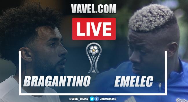 Gols e melhores momentos de Bragantino 2 x 0 Emelec pela Copa Sul-Americana