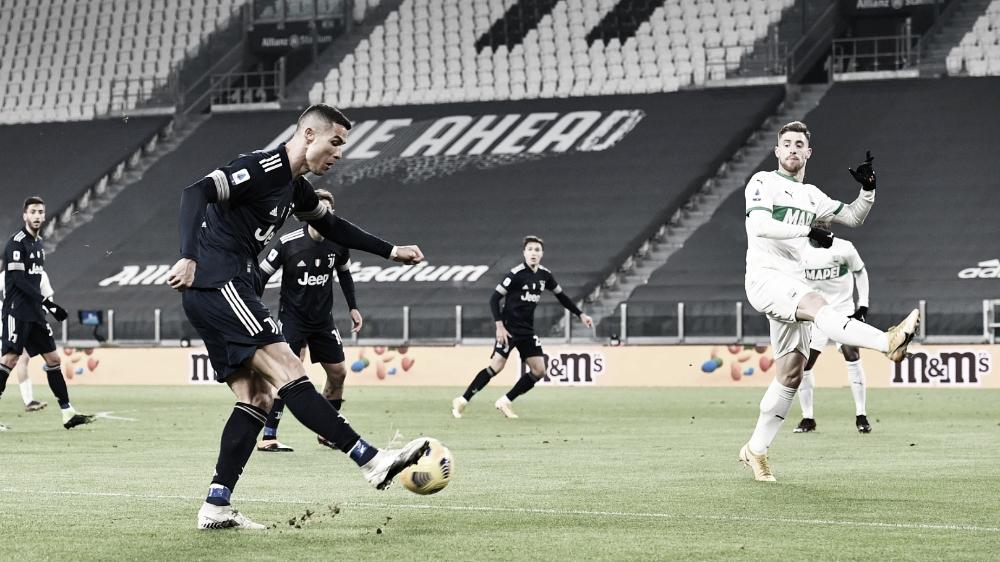 Gols e melhores momentos para Sassuolo x Juventus pela Série A (1-3)