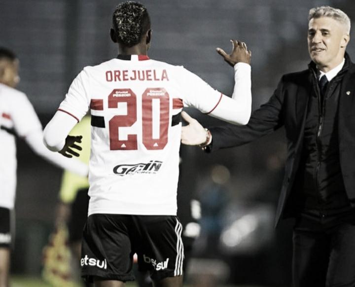 Orejuela estreia com gol, mas São Paulo fica no empate com Rentistas