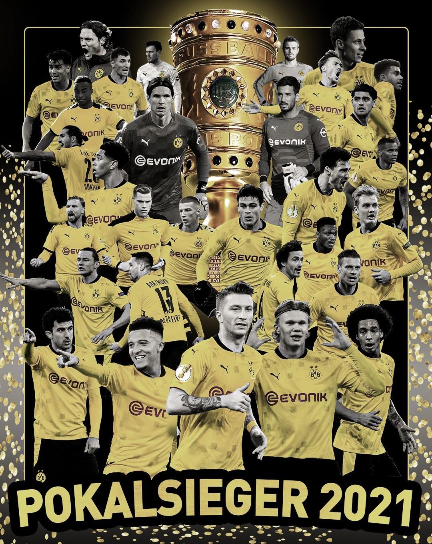Borussia Dortmund, campeón de la DFB Pokal