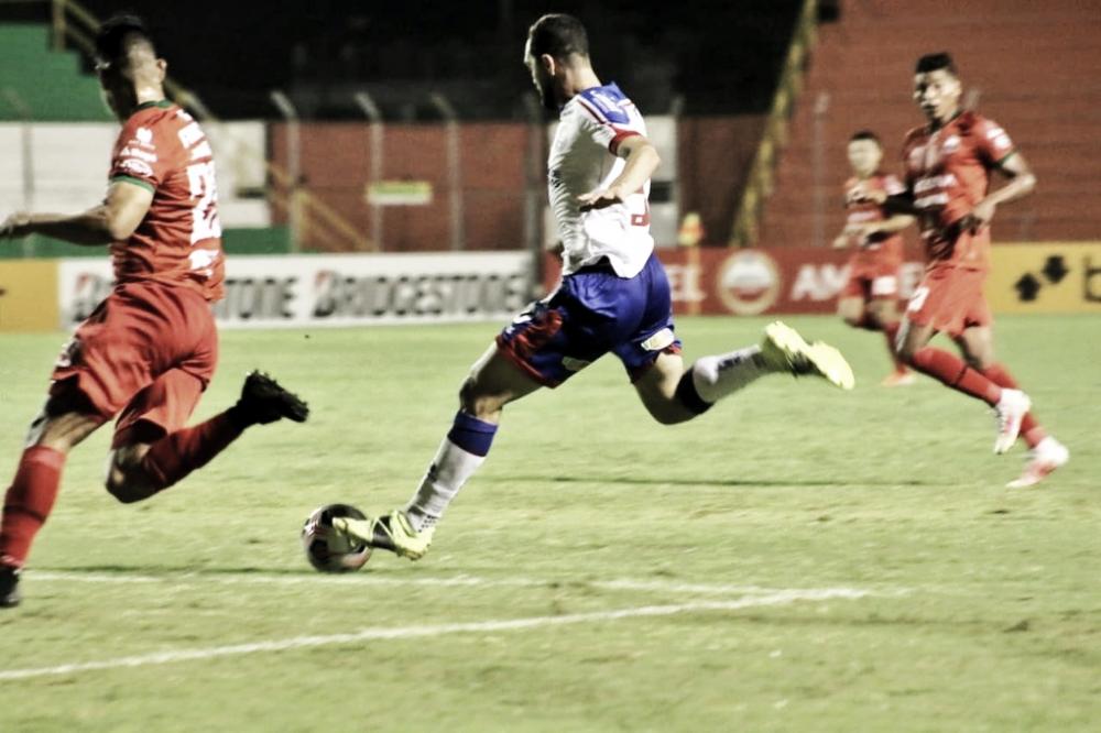 Com golaço de Gilberto, Bahia vence Guabirá e assume liderança do grupo B da Sul-Americana